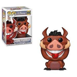 Funko Pop Disney: O Rei Leão: Luau Pumbaa #498