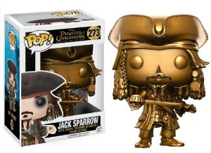 Funko Pop Disney: Pirates of The Caribbean - Jack Sparrow (Gold) #273
