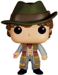 Funko Pop Doctor Who Fourth Doctor Exclusivo Barnes & Noble #232