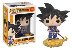 Funko Pop DragonBall  Goku and Flying Nimbus #109