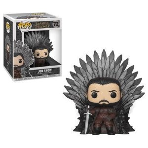 Funko Pop Game of Thrones Jon Snow (Iron Throne)  #72