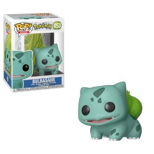 Funko Pop! Games: Pokemon - Bulbasauro  #453  Bulbasaur