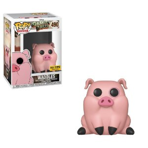 Funko Pop Gravity Falls Waddles Exclusivo Hot Topic # 490