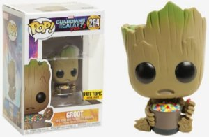 Funko Pop  Guardians Of The Galaxy Volume 2  - Groot Exclusivo Hot Topic #264