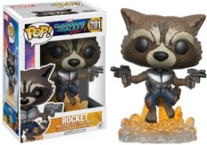 Funko Pop Guardians Of The Galaxy Volume 2  - Rocket #201