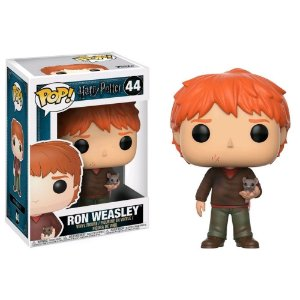 Funko Pop Harry Potter: Ron Weasley with Scabbers #44