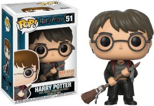 Funko Pop Harry Potter W Firebolt Box Lunch Exclusive #51