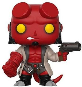 Funko Pop Hellboy (no Horns) #01