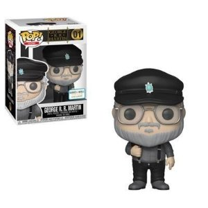 Funko Pop Icons: George R. R. Martin #01