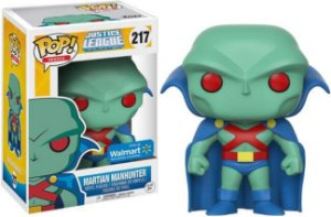 Funko Pop Justice League Martian Manhunter Exclusivo Walmart #217