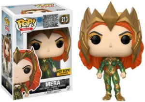Funko Pop Justice League - Mera Exclusivo Hot Topic #213