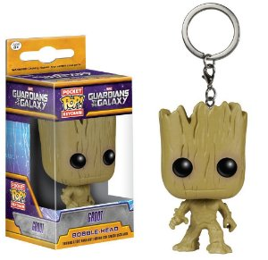 Funko Pop Keychain: Guardians of the Galaxy - Groot
