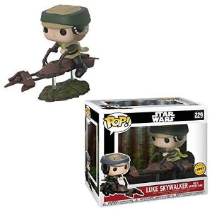 Funko Pop Luke on Speeder Bike Pop Vinyl Figure (Chase) #229