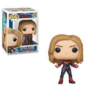 Funko Pop Marvel: Capitã Marvel (Captain Marvel) #425