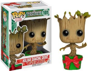 Funko Pop Marvel: Guardians of the Galaxy - Holiday Dancing Groot #101