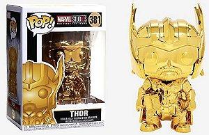 Funko Pop Marvel Studios Thor (Gold Chrome)  # 381