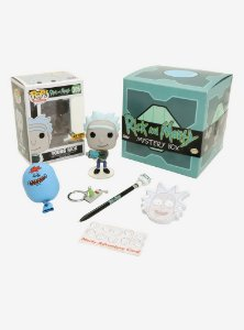 Funko Pop Mistery Box - Rick And Morty  Exclusivo Hot Topic