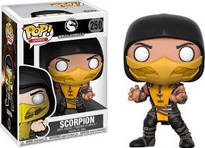Funko Pop Mortal Kombat Scorpion #250