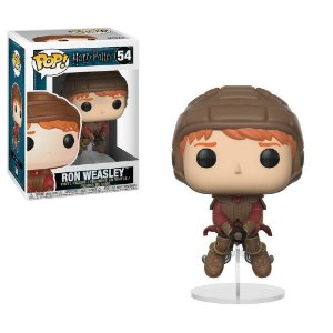 Funko Pop Movies:  Harry Potter - Ron on Broom  #154