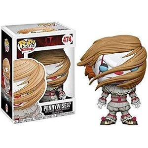 Funko Pop Movies: IT - Pennywise With Wig (Walmart) #474