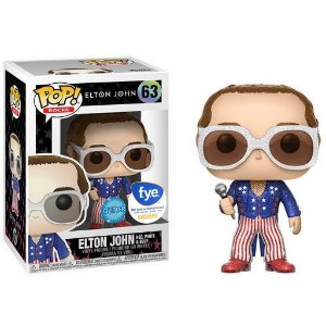 Funko Pop Rocks Elton John Red White & Blue #63