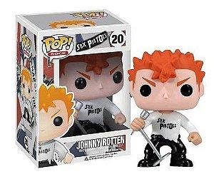 Funko Pop Rocks: Sex Pistols - Johnny Rotten #20