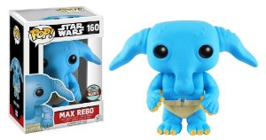 Funko Pop Star Wars Max Rebo Specialty Series Exclusive #160