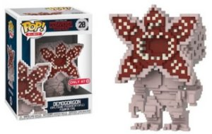 Funko Pop Stranger Things Demogorgon 8-Bit Exclusivo Target #20