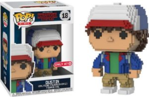 Funko Pop Stranger Things Dustin 8-Bit Exclusivo Target #18