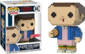 Funko Pop Stranger Things Eleven with Eggos 8-Bit Exclusivo Target #16