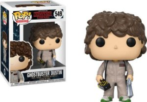 Funko Pop Stranger Things Ghostbusters  Dustin  #549