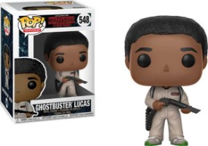 Funko Pop Stranger Things Ghostbusters  Lucas  #548