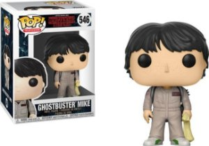 Funko Pop Stranger Things Ghostbusters Mike  #546