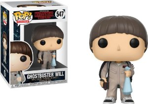 Funko Pop Stranger Things Ghostbusters Will  #547