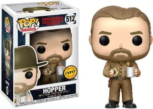 Funko Pop Stranger Things Hopper - Chase #512