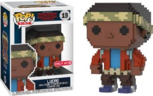 Funko Pop Stranger Things Lucas 8-Bit Exclusivo Target #19