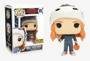 Funko POP! Stranger Things Max (Costume) #552 Hot Topic Exclusive