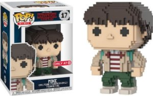 Funko Pop Stranger Things Mike 8-Bit Exclusivo Target #17
