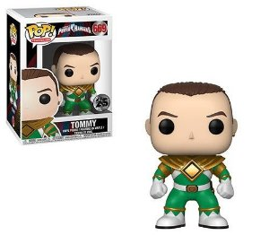 Funko Pop Tommy  ( Green  Ranger)  Power Rangers  #669