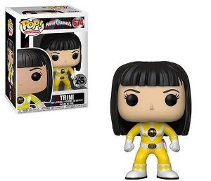 Funko Pop Trini (Yellow Ranger)  Power Rangers-#674