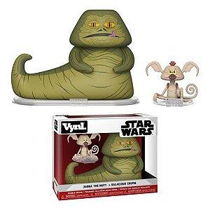 Funko Vynl - Jabba The Hutt &  Salacious Crumb