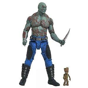Guardiões da Galaxia Drax & Groot  MARVEL SELECT