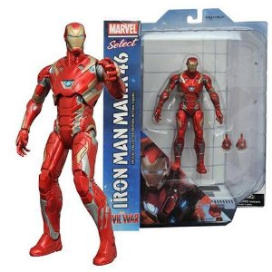 IRON MAN MARK 46 CIVIL WAR MARVEL SELECT