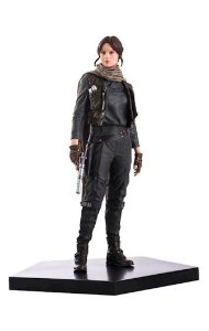 JYN ERSO ART SCALE 1/10 STAR WARS ROGUE ONE