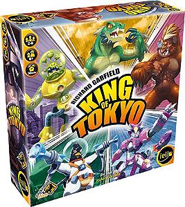 King of Tokyo Board Game Galápagos Jogos