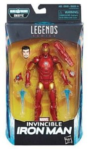 Marvel Legends Invincible Iron Man - O Invencível Homem de Ferro