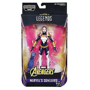 Marvel's Songbird  Marvel Legends Series   Avengers Infinity War  Baf  Thanos