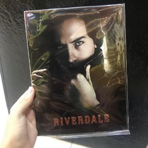 Placa decorativa Riverdale Jughead Jones South Side Serpents