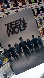 Quadro Teen Wolf Mdf 40x60 cm poster