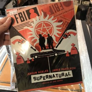 Supernatural - Placa Decorativa